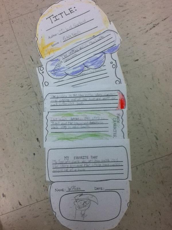 Hamburger book report project
