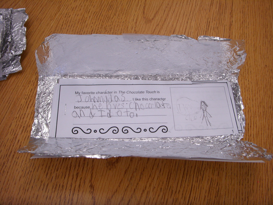 The Chocolate Touch - 2nd Grade Writing Projects